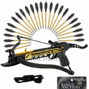 KingsArchery Self-Cocking Crossbow Bundle