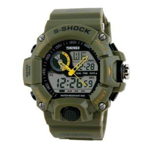 Fanmis Men's Sport Digital LED Watch