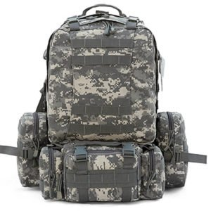 CVLIFE Outdoor 50L Military Rucksacks Tactical Backpack