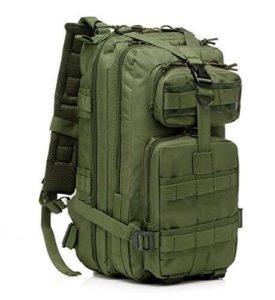 ERollDeep Sport Outdoor Comfortable Waterproof Assault Pack
