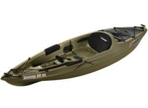 Sun Dolphin Journey sit-on-top Fishing Kayak, 10-Feet