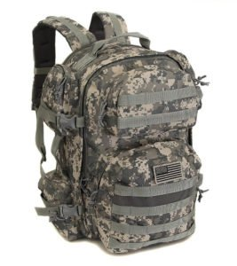 NPUSA Men's Large Expandable Tactical Molle Hydration ReadyBackpack