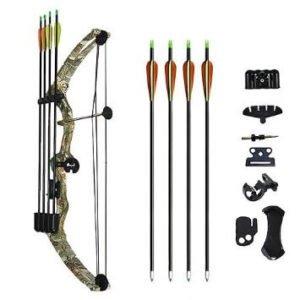 ATROPOS M110 Black/Camo Archery Youth Compound Bow Kit