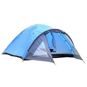 Semoo D-Shape Door, 3-4 Person 4 season tent
