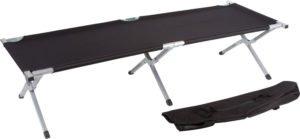 Trademark Innovations Aluminum Portable Folding Camping Bed