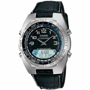 Casio Analog Pathfinder Moon Phase Fishing Watch