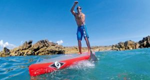 BIC Sport Original Adjustable Aluminum or Fiberglass Shaft SUP Paddle