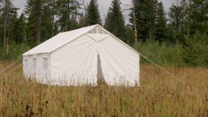 13 X 16 Canvas Wall Tent & Angle Kit