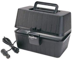 Koolatron LBS-01 Black 12 Volt Lunch Box Stove
