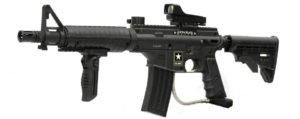 US Army Alpha Black Elite Paintball Marker Gun