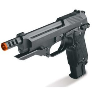 New Version KWA NS2 M93R PTP Airsoft Pistol Gas Blowback