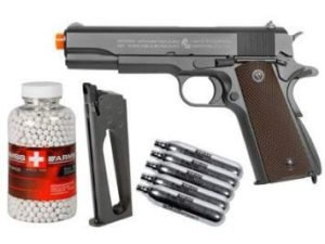 Colt 1911 CO2 Metal Blowback Airsoft Pistol