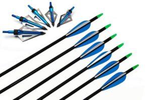 """I-sport 32"""" Fiberglass Target Hunting Arrows"""