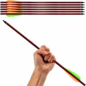 Aluminum Arrows Crossbow Arrows Hunting Survival