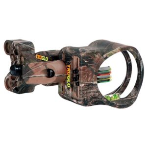 TruGlo Carbon XS 4 Pin .019 Bow Sight with Light