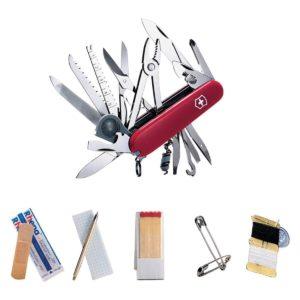 Victorinox Swiss Army Swiss Champ SOS Set Pocket Knife